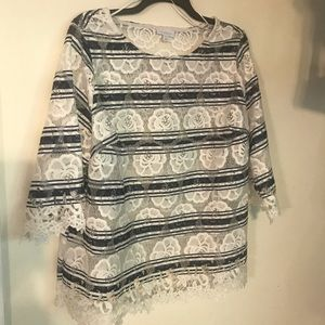 Charter Club cut out blouse